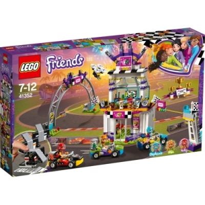 LEGO® Friends 41352 Das große Rennen, 648 Teile