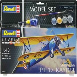 Revell - Model Set Stearman PT-17 Kaydet
