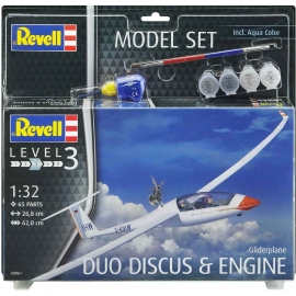 Revell - Model Set Glider Duo Discus and Engine