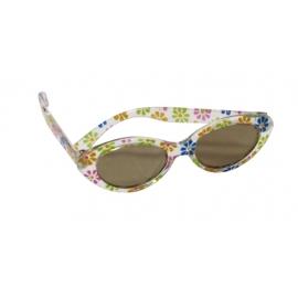 Götz 3401599 Puppe Sonnenbrille mit Etui, Blumenmuster