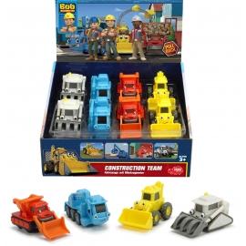 Dickie Toys - Bob der Baumeister Cute Building Team, 4-sort.