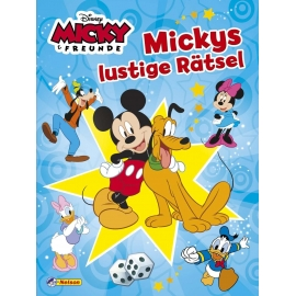 Nelson Verlag - Disney Micky Maus - Mickys lustige Rätsel