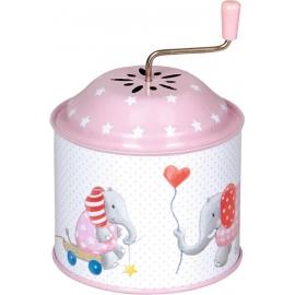 Die Spiegelburg - Baby Glück - Spieluhrdose, rosa