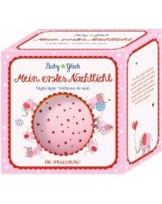 Die Spiegelburg - Baby Glück - Nachtlicht Sternenhimmel, rosa