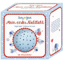 Die Spiegelburg - Baby Glück - Nachtlicht Sternenhimmel, blau