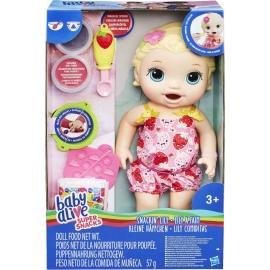 Hasbro - Baby Alive Fütterspaß Lily, blondhaarig