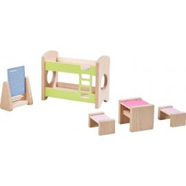 HABA 303825 Little Friends Kleinkindspielzeug schwarzes Lamm