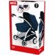 BRIO - Puppenwagen Spin blau mit Schwenkrädern