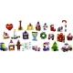 LEGO Friends - 41353 Adventskalender mit Weihnachtsschmuck