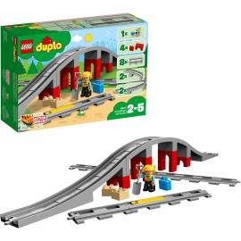 LEGO DUPLO - 10872 Eisenbahnbrücke und Schienen