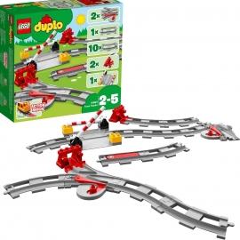 LEGO DUPLO - 10882 Eisenbahn Schienen