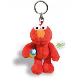 NICI - Sesamstrasse - Schlüsselanhänger Monster Elmo, 10 cm