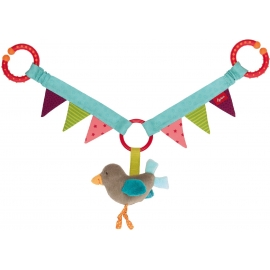 sigikid - Newborn Activity - Wagenkette Vogel