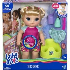 Hasbro - Baby Alive Töpfchentanz, blondhaarig