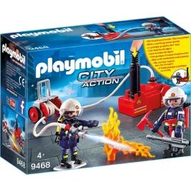 PLAYMOBIL 9468 - City Action - Feuerwehrmänner mit Löschpumpe