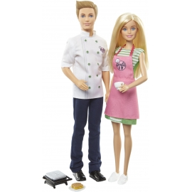 Mattel - Barbie Cooking and Baking - Barbie und Ken Puppen Geschenkset