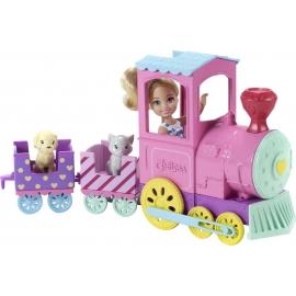 Mattel - Barbie Chelsea Abenteuerzug und Puppe