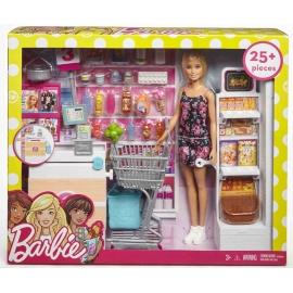 Mattel - Barbie - Supermarkt und Puppe