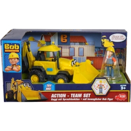Dickie Toys - Bob der Baumeister Action-Team Baggi