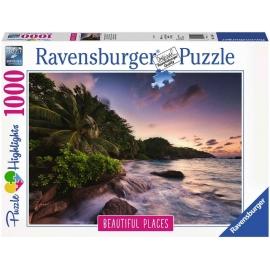 Ravensburger Spiel - Insel Praslin auf den Seychellen, 1000 Teile