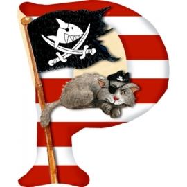 Buchstabe P Capt n Sharky