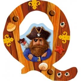 Buchstabe Q Capt n Sharky