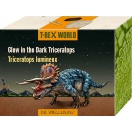 Die Spiegelburg - Glow in the Dark Triceratops  T-Rex World