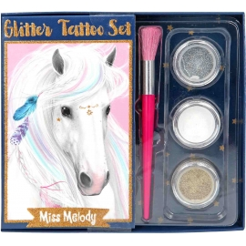 Depesche - Miss Melody - Miss Melody Glitzer Tattoo Set