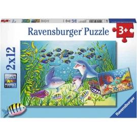 Ravensburger Spiel - Auf dem Meeresgrund, 12 Teile
