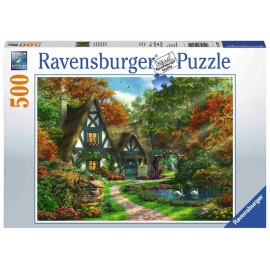Ravensburger Spiel - Cottage im Herbst, 500 Teile