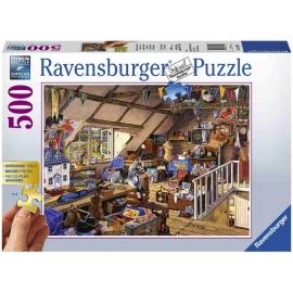 Ravensburger Spiel - Großmutters Dachboden, 500 Teile