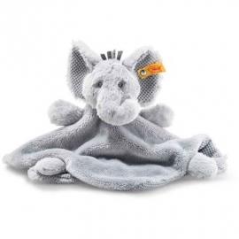 Steiff - Soft Cuddly Friends Ellie Elefant Schmusetuch, 26 cm