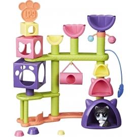 Hasbro - Littlest Pet Shop Katzen-Spielparadies