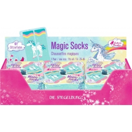 Die Spiegelburg - Einhorn-Paradies - Magic Socks, one size Gr. 26-36