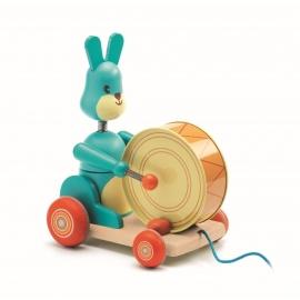 Djeco - Ziehtier: Bunny Boum