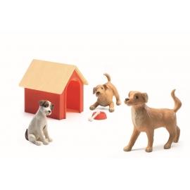 Djeco - Puppenhaus - Dogs