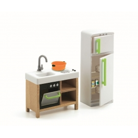 Djeco - Puppenhaus - Compact Kitchen