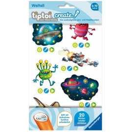 Ravensburger 9107 tiptoi® CREATE Sticker Weltall