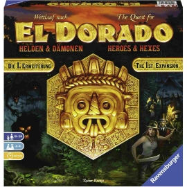 Ravensburger Spiel - Wettlauf nach El Dorado Helden und Dämonen