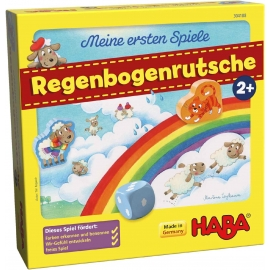 HABA - Meine ersten Spiele - Regenbogenrutsche