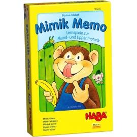 HABA - Mimik Memo - Lernspiele zur Mund- und Lippenmotorik