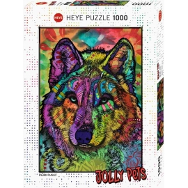 Heye - Standardpuzzles - Wolf's Soul Standard, 1000 Teile