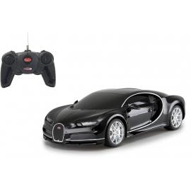 Jamara - Bugatti Chiron 1:24 schwarz 27MHz