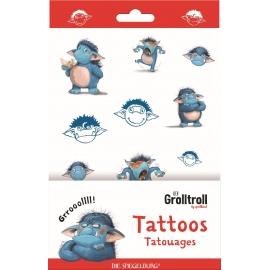Die Spiegelburg - Tattoos Grolltroll