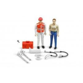 BRUDER - Figurenset Rettungsdienst