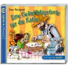 Oetinger - Eine Geburtstagstorte für die Katze CD Hörspiel, ca. 27 min