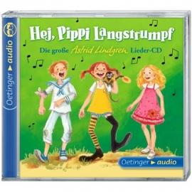 Oetinger - Hej, Pippi Langstrumpf! - 1 CD Die große Astrid-Lindgren-Lieder-CD, ca. 37 Min.