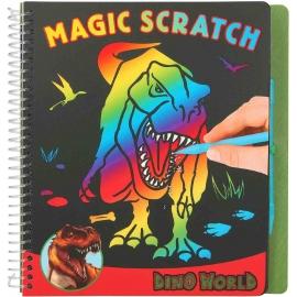 Depesche - Dino World - Magic Scratch Book