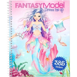 Depesche - Fantasy Model -  Dress me up Stickerbook