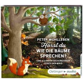 Oetinger - Hörst du, wie die Bäume sprechen? Eine kleine Entdeckungsreise durch den Wald 2 CD Auto